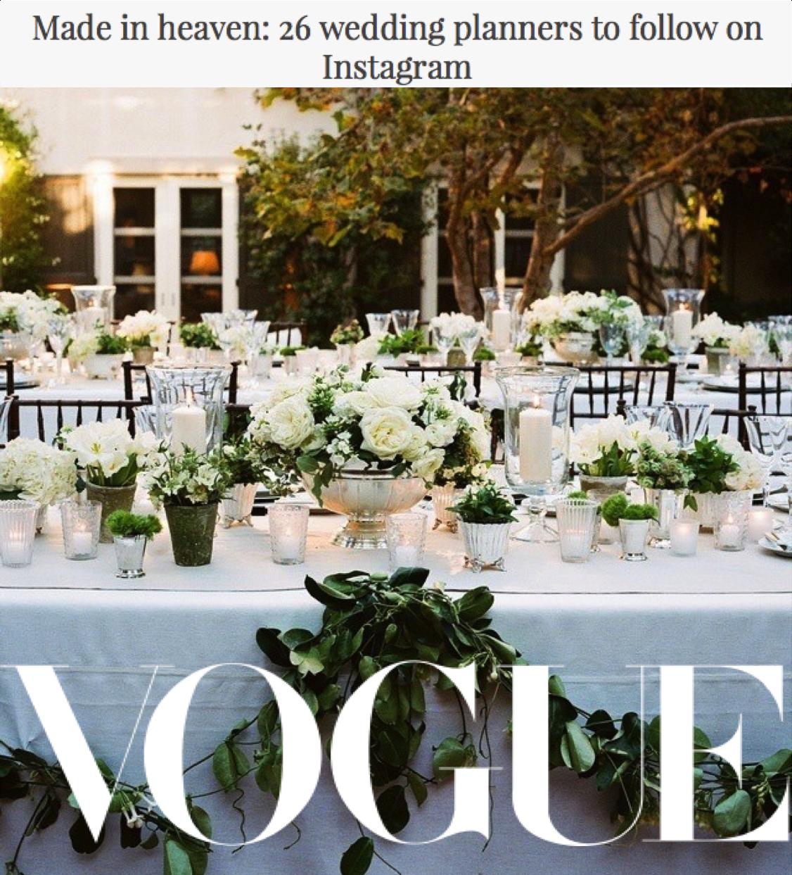Vogue Instagram Accounts To Follow