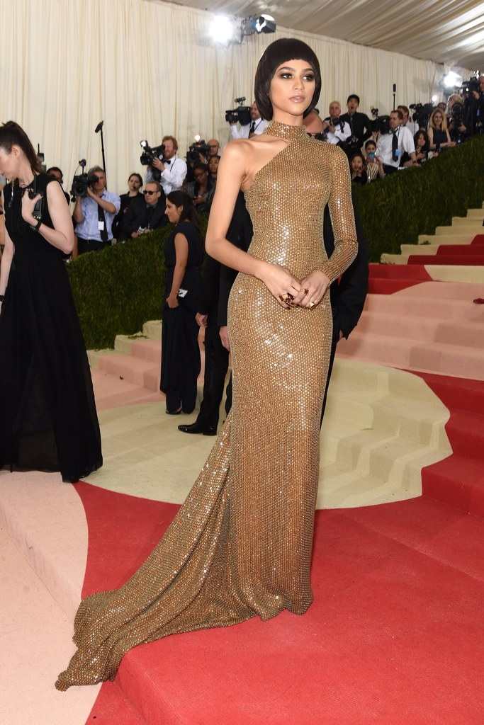 Sacks Productions_Favorite Met Gala Looks_Zendaya in Michael Kors and Jorge Adeler rings