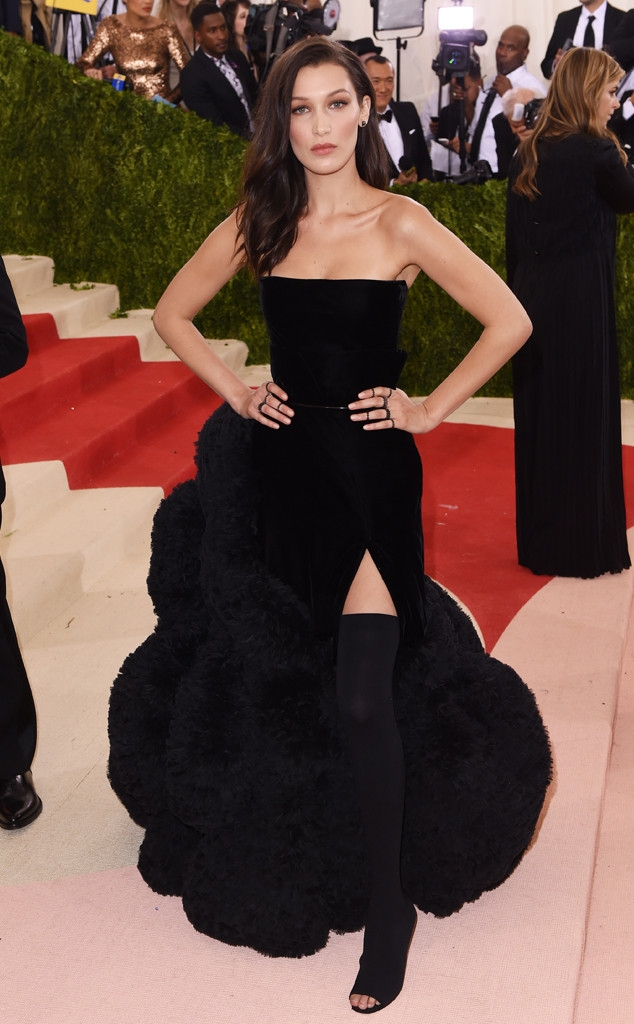 Sacks Productions_Favorite Met Gala Looks_bella hadid in Givenchy Haute Couture with Lorraine Schwartz jewelry