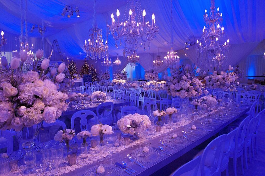 A Magical Winter Wonderland Wedding - Sacks Productions