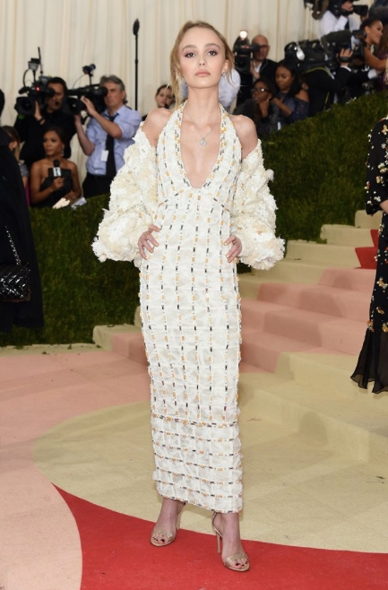 Sacks Productions_Favorite Met Gala Looks_Lily Rose-Depp in Chanel and Gianvito Rossi Shoes