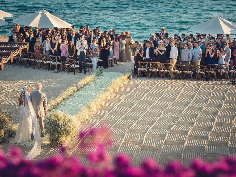 Sacks Productions,   Juan Carlos Tapia,   Jeff Leatham,  Las Ventanas al Paraiso, beach wedding, destination wedding, seaside wedding