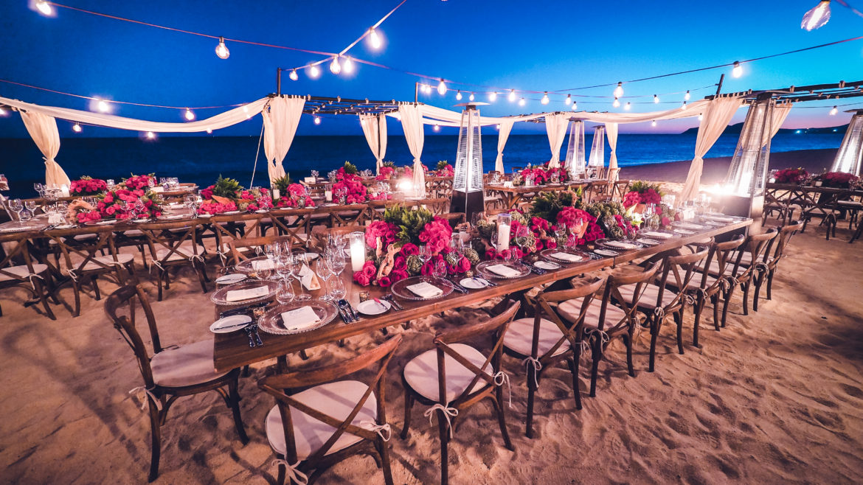 Sacks Productions, Juan Carlos Tapia, Jeff Leatham, Las Ventanas al Paraiso, beach wedding, destination wedding, seaside wedding